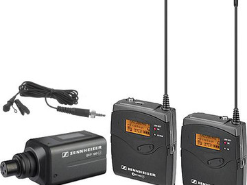 Rent:  Sennheiser ew 100 ENG G3 Wireless Kit (G:566-608 MHz)
