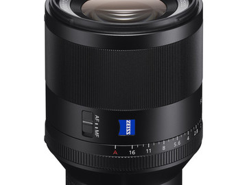 Rent: Sony Planar T* FE 50mm f/1.4 ZA Lens
