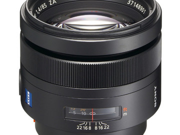 Rent: Sony 85mm f/1.4 Carl Zeiss Planar T* Prime Lens