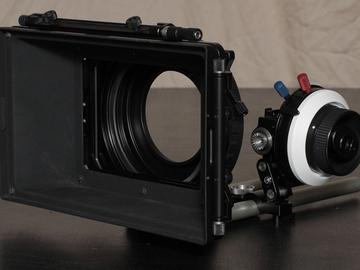 ARRI MMB-2 Matte Box + Follow Focus + Filters + 19mm Rails