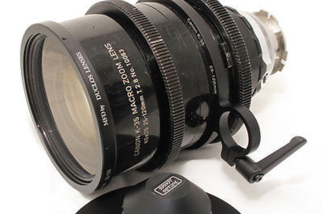 Canon 25-120 T2.8 PL K35 Vintage Macro Zoom