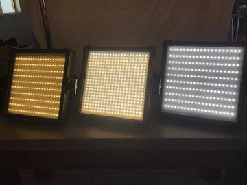 Rent: 3x 1x1 Bi-color LED Panels