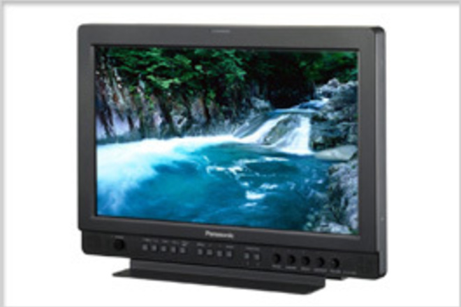"Panasonic 17"" Widescreen HD/SD LCD Video Monitor"