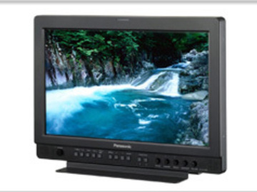"Rent: Panasonic 17"" Widescreen HD/SD LCD Video Monitor"