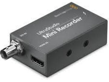 Rent: Blackmagic Design UltraStudio Mini Recorder Capture Device