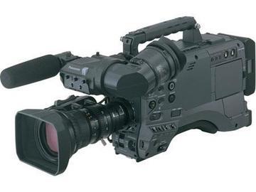 "Rent: Panasonic AG-HPX500 2/3"" Shoulder Mounted P2 Camcorder"