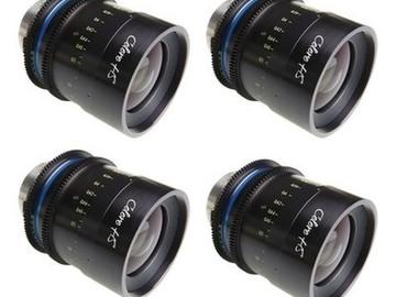 Rent: Celere High Speed Pl Prime Lens kit