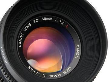 Rent: Vintage Canon PL primes