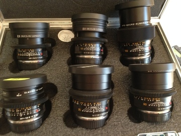 Rent: Leica R Duclos Prime Lens Kit