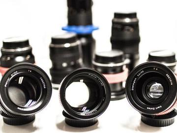 Rent: Zeiss Contax EF mount Cine Lens kit.