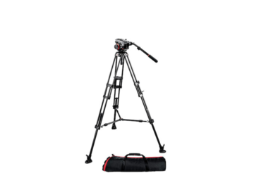 Rent: Manfrotto 504 Head w/ 2-Stage Aluminum Legs