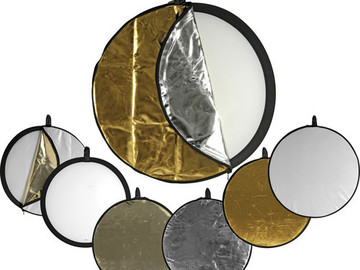 "Rent: 5-in-1 Collapsible 42"" Reflector Disc"