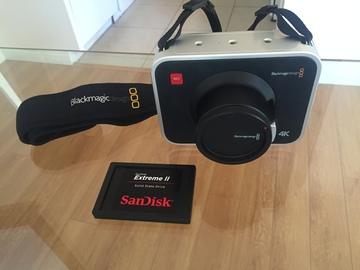Rent: Blackmagic Design Production Camera 4K (EF Mount)