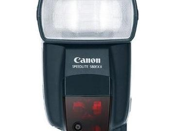 Rent: Canon Speedlight 580ex with Transmitter