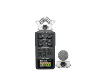 Rent: Zoom H6 Recorder Field Kit