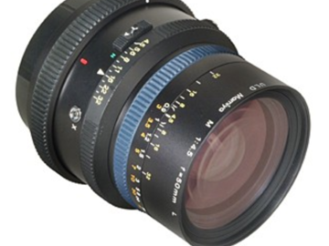 Rent: Mamiya 50mm F/4.5 W Lens For Mamiya RZ67 System