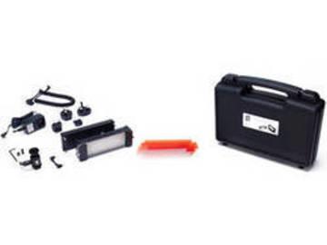 Rent: LitePanel Mini Plus kit w/ 2 batts and Cine arm