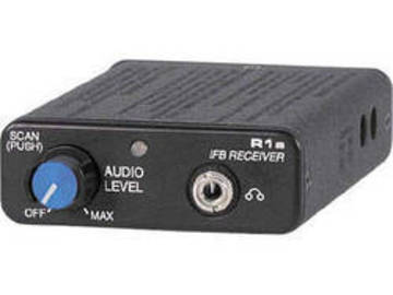 Rent: IFB Lectrosonic R1A BLK24 comes with SMQV TX