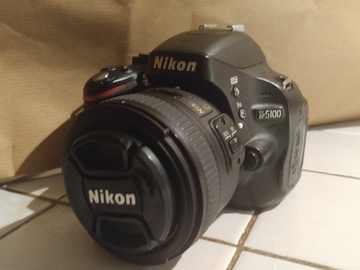 Rent: Nikon D5100 w/ Nikon 18-55mm f/3.5 - 5.6GII EDVR kit lense