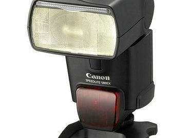 Rent: Canon Speedlite 580EX Flash