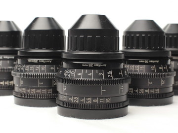 Rent: Zeiss Super Speeds Mark II (18,25,35,50,85 T1.3)