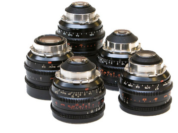 Rent: Zeiss Standard Speed Lens Set 16mm - 135mm