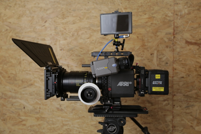 Arri Alexa Mini Cooke Anamorphic 2 Lens Full Package