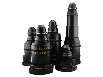 Rent: Set of 5 Elite Anamorphic Lenses 2x PL