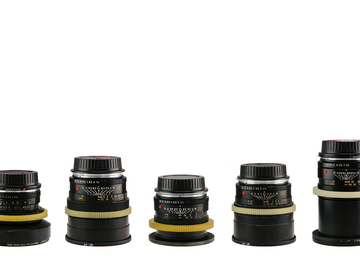 Rent: Set of 7 Leica Lenses CineStyle (19,24,28,35,50,80,135mm)