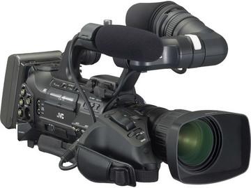 Rent: JVC GY-HM750 ProHD Compact Shoulder Camcorder w/Canon 14x Le