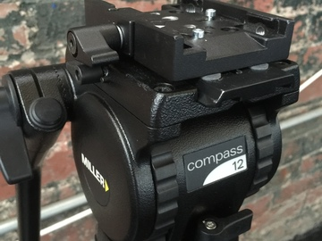 Rent: Miller Compass 12 Solo 75 Three-Stage Carbon Fiber Tripod