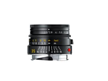 Rent: Leica Summarit-M 35mm f/2.5 Black Anodized Finish