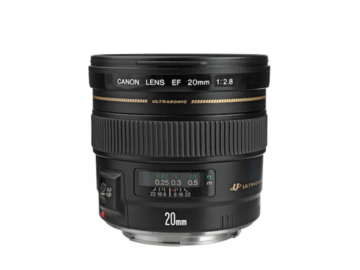 Rent: Canon EF 20mm f2.8