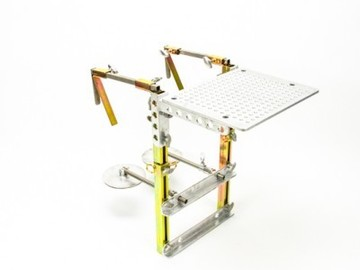 MODERN DELUXE SIDE MOUNT HOSTESS TRAY COMPLETE