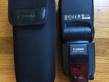 Rent:  Canon Speedlite 580EX II Flash for Canon EOS Cameras