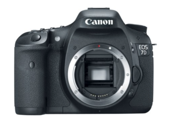 Rent: Canon 7D (Body Only) with Batteries, Media, Battery Grip
