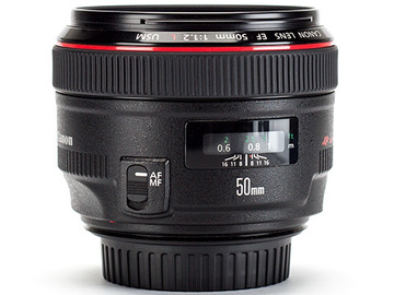 Rent: Canon EOS EF 50mm F/1.2 lens