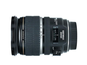 Rent: Canon EOS EF-s 17-55mm f/2.8 IS w/hood