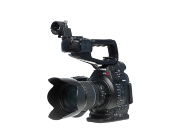 Canon EOS C100 with AF upgrade and 2x BP970 batteries