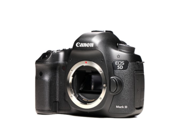 Canon EOS 5D MkIII DLSR body + 4x batteries