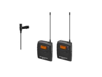 Sennheiser G3 Wireless lavaliere kit with AT899 upgraded mic