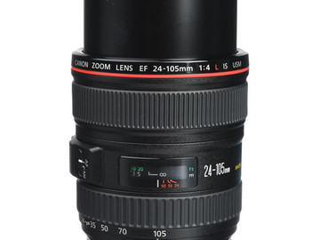 Rent: Canon 24-105mm L IS Zoom Lens