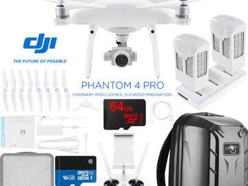 Rent: DJI PHANTOM 4 PRO PACK!
