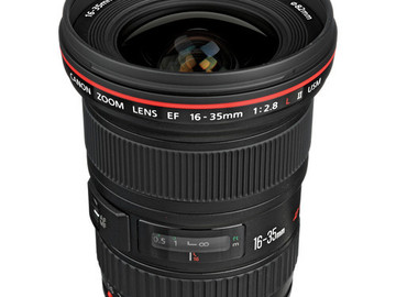 Rent: Canon 16-35mm II  F2.8 L series Lens