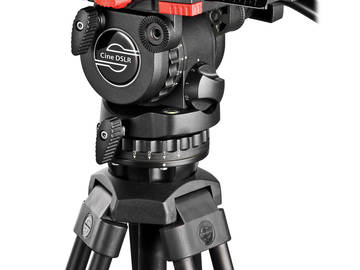 Rent: Sachtler Cine DSLR Fluid Head w/ 2-Stage Tripod