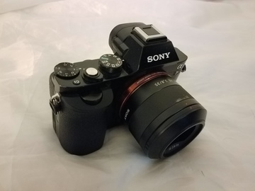 Rent: Sony A7R 36 megapixel full frame mirrorless camera