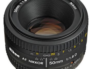 Rent: Nikon 50mm 1.8