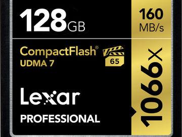 Rent: Lexar 128GB CF Card