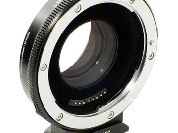Rent: Metabones Speedbooster .71x EF to M43 mount