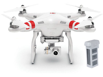 Rent: DJI Phantom 2 Drone w/ Extra Battery